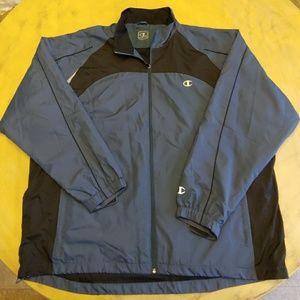 Champion Mens Windbreaker zip Jacket